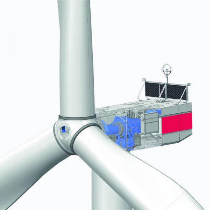 Windenergieanlage BW 4500